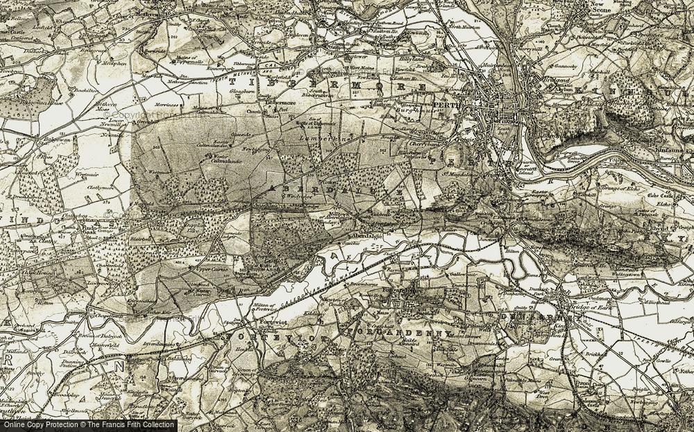 Aberdalgie, 1906-1908