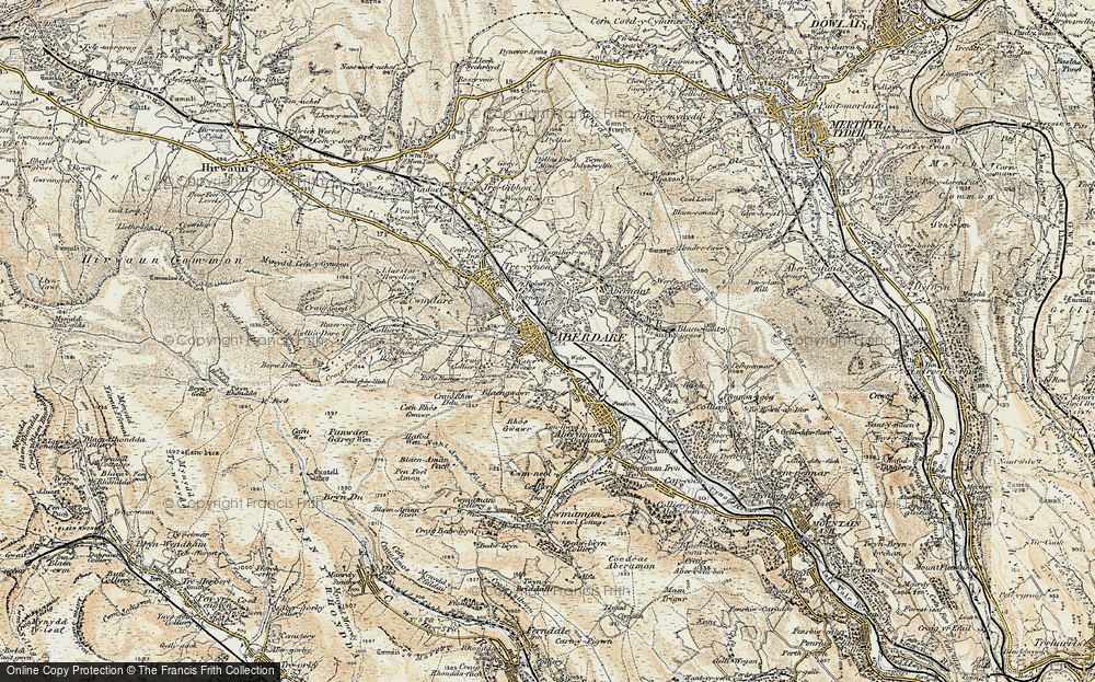 Aberdare, 1899-1900