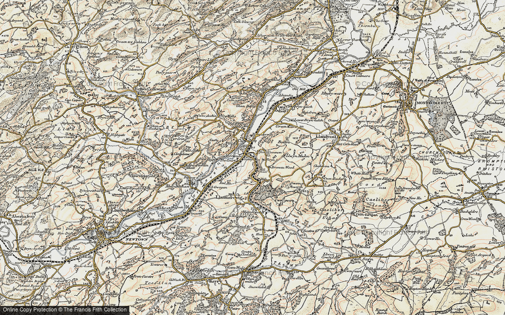 Abermule/Aber-miwl, 1902-1903