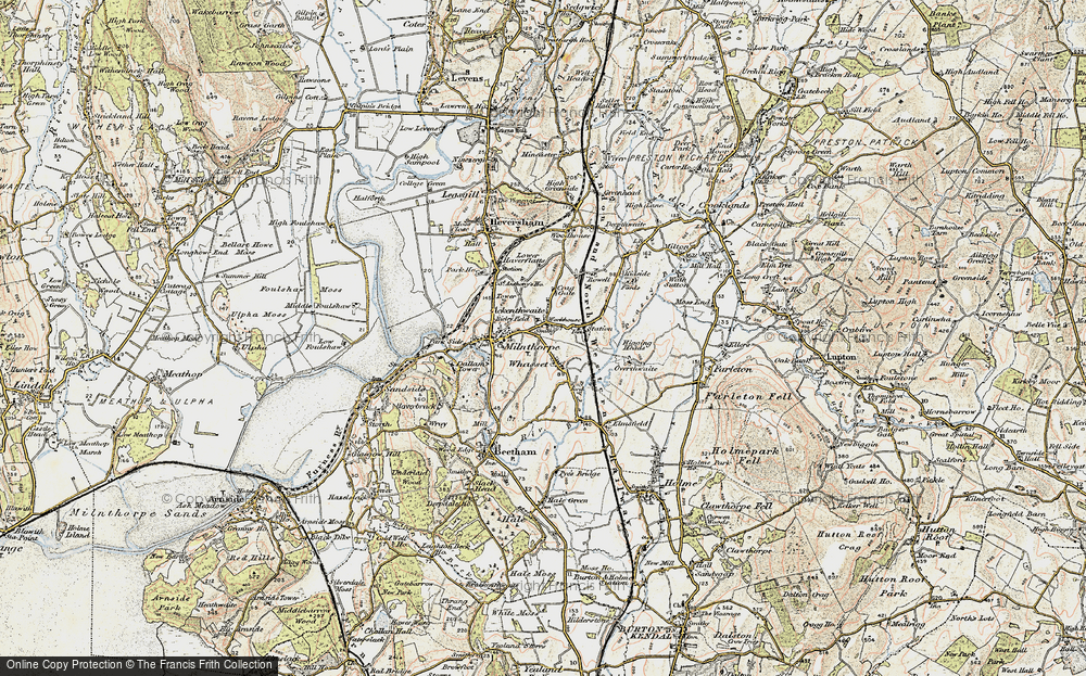 Old Map of Ackenthwaite, 1903-1904 in 1903-1904