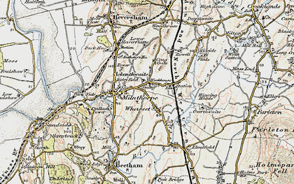 Old map of Ackenthwaite in 1903-1904
