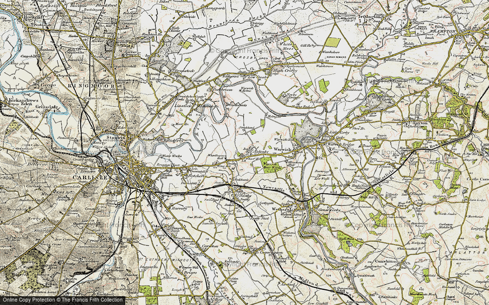 Old Map of Aglionby, 1901-1904 in 1901-1904