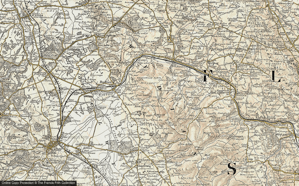 Old Map of Aifft, 1902-1903 in 1902-1903