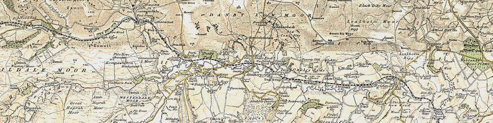 Old map of Ainthorpe in 1904