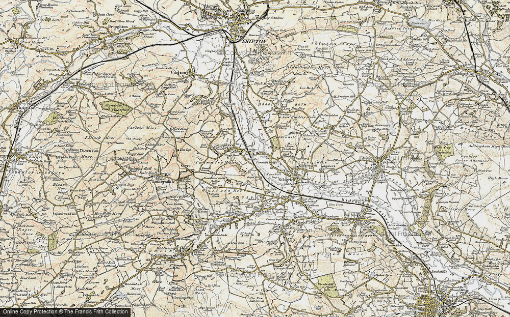 Old Map of Aire View, 1903-1904 in 1903-1904