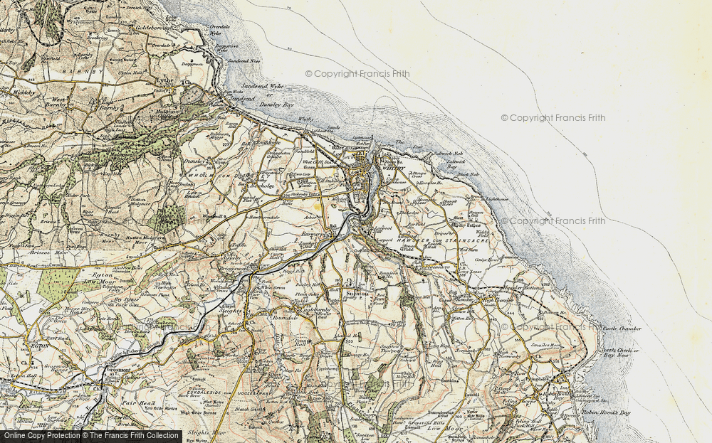 Old Map of Airy Hill, 1903-1904 in 1903-1904