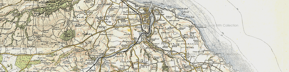 Old map of Airy Hill in 1903-1904