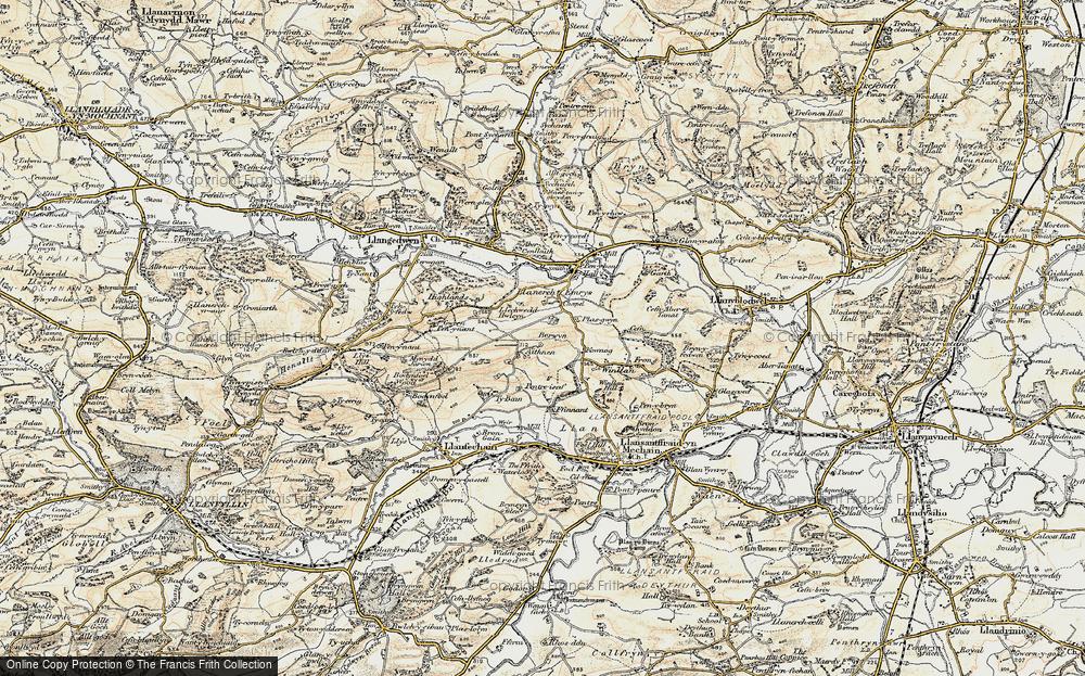 Aithnen, 1902-1903