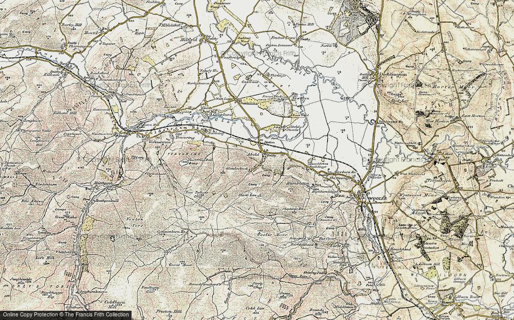Akeld, 1901-1903