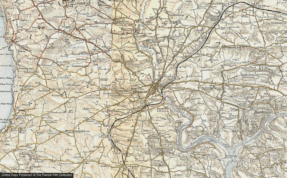 Albert Town, 1901-1912