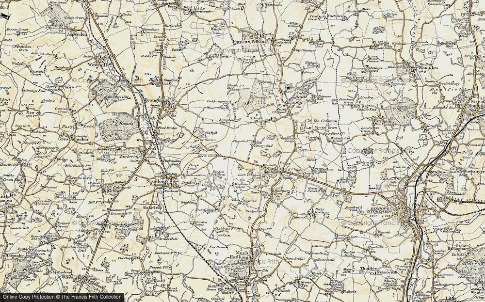 Albury End, 1898-1899
