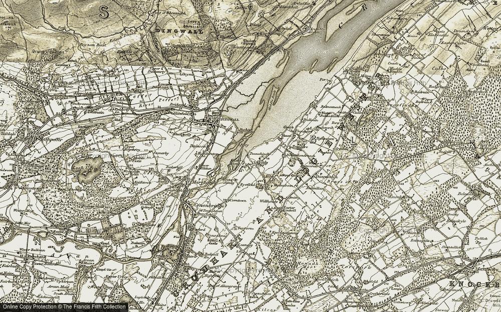 Alcaig, 1911-1912