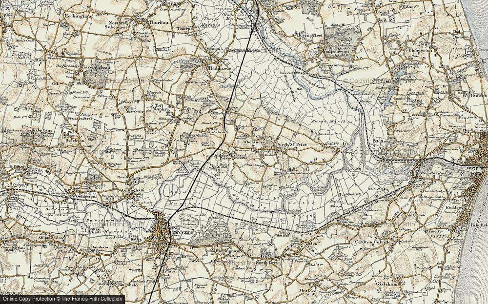 Aldeby, 1901-1902