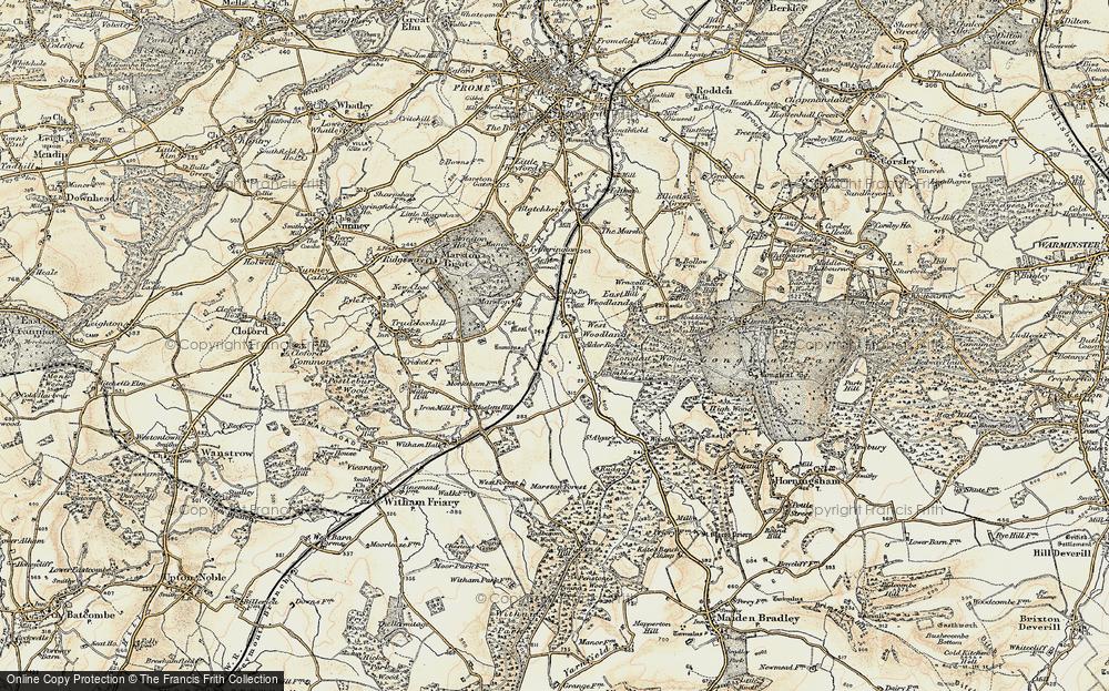 Alder Row, 1897-1899
