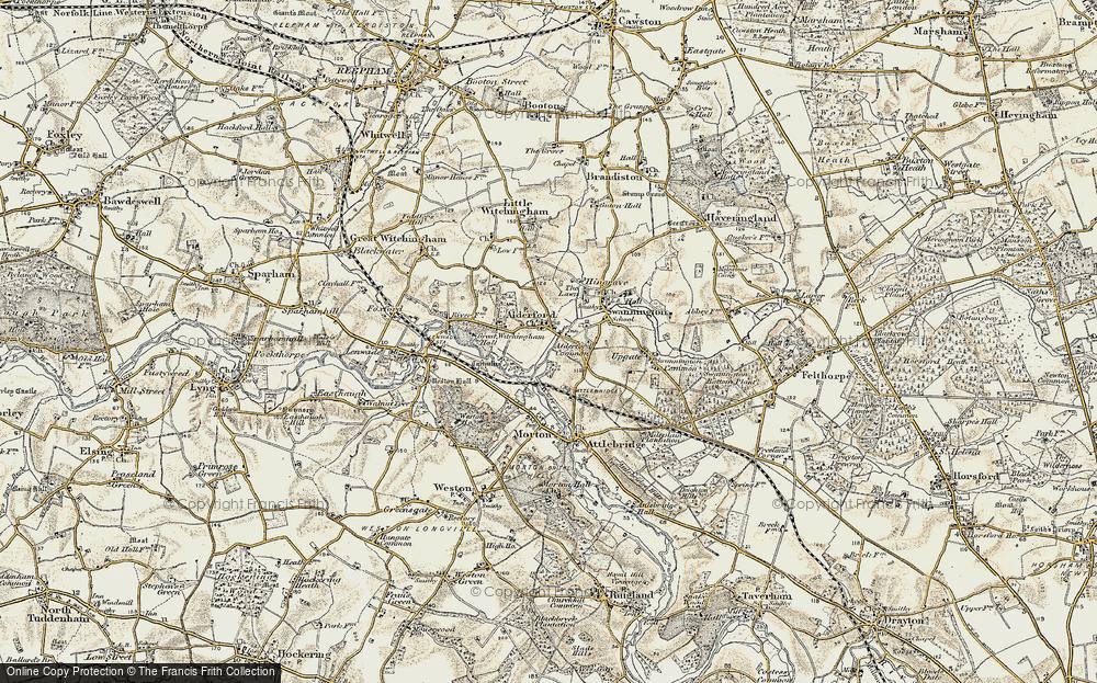 Alderford, 1901-1902