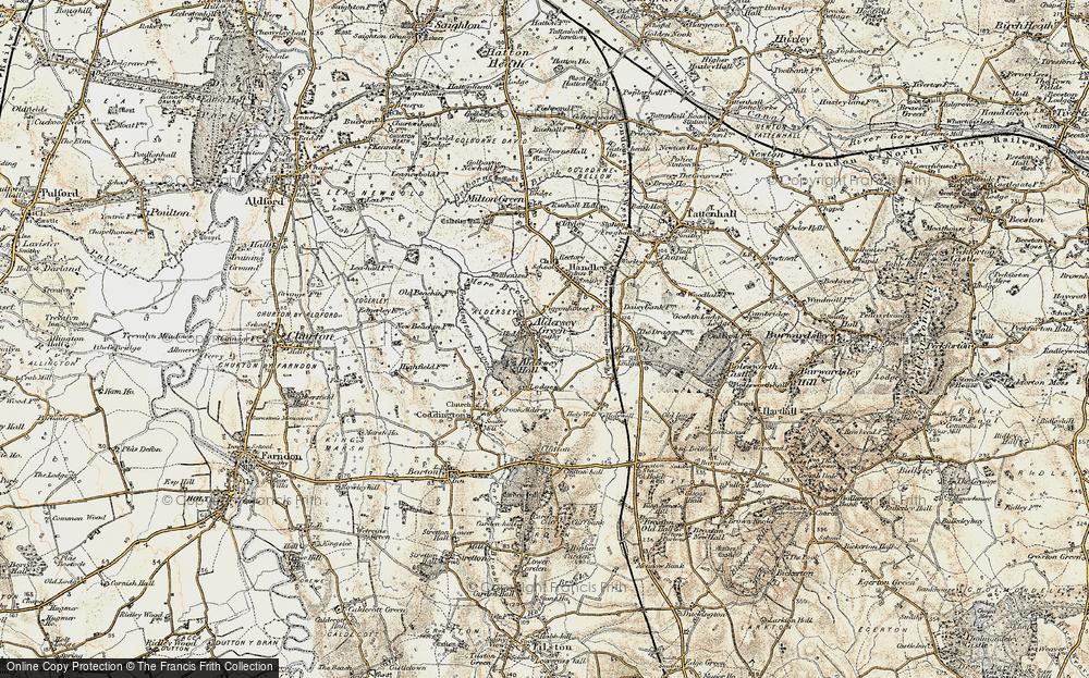 Aldersey Green, 1902-1903