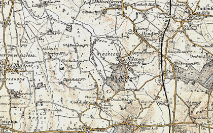 Old map of Aldersey Park in 1902-1903