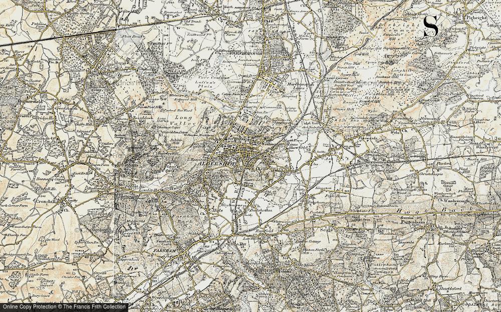 Aldershot, 1898-1909