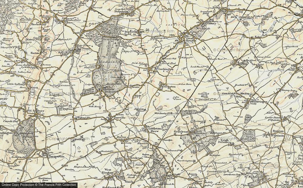 Alderton, 1898-1899