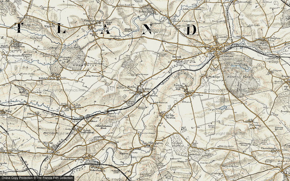 Old Map of Aldgate, 1901-1903 in 1901-1903