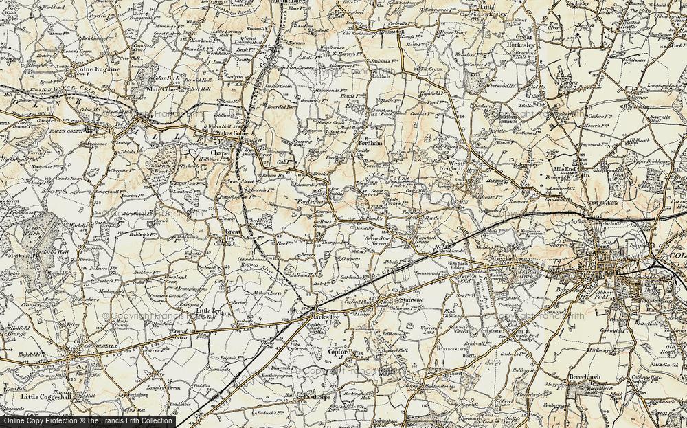Aldham, 1898-1899
