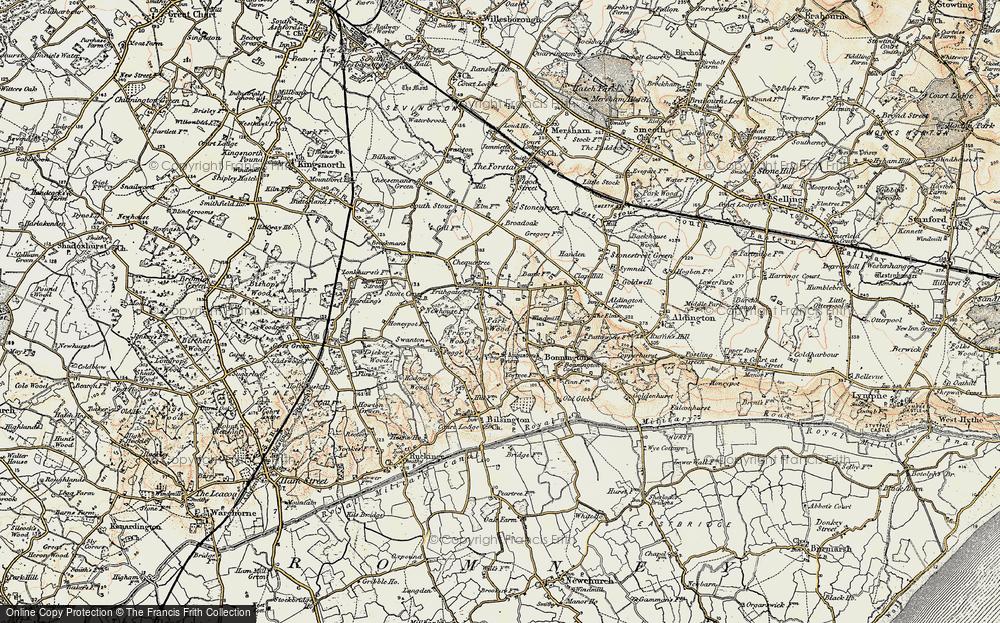 Aldington Frith, 1897-1898