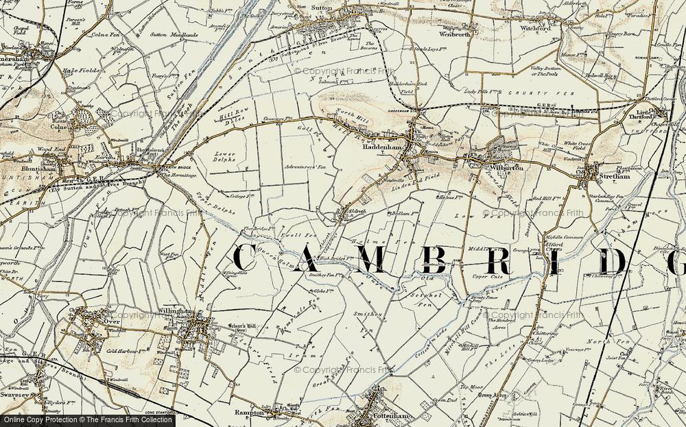 Aldreth, 1901