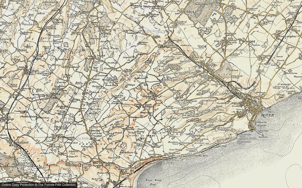 Alkham, 1898-1899