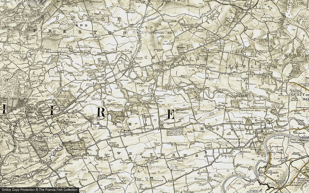 Old Map of Allanton, 1901-1904 in 1901-1904