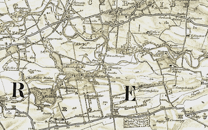 Old map of Whitemire in 1901-1904