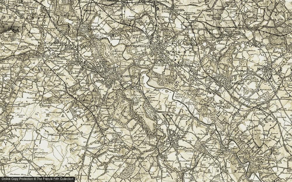 Allanton, 1904-1905