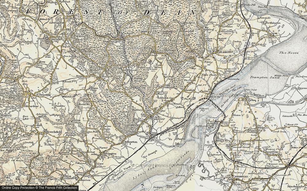 Allaston, 1899-1900