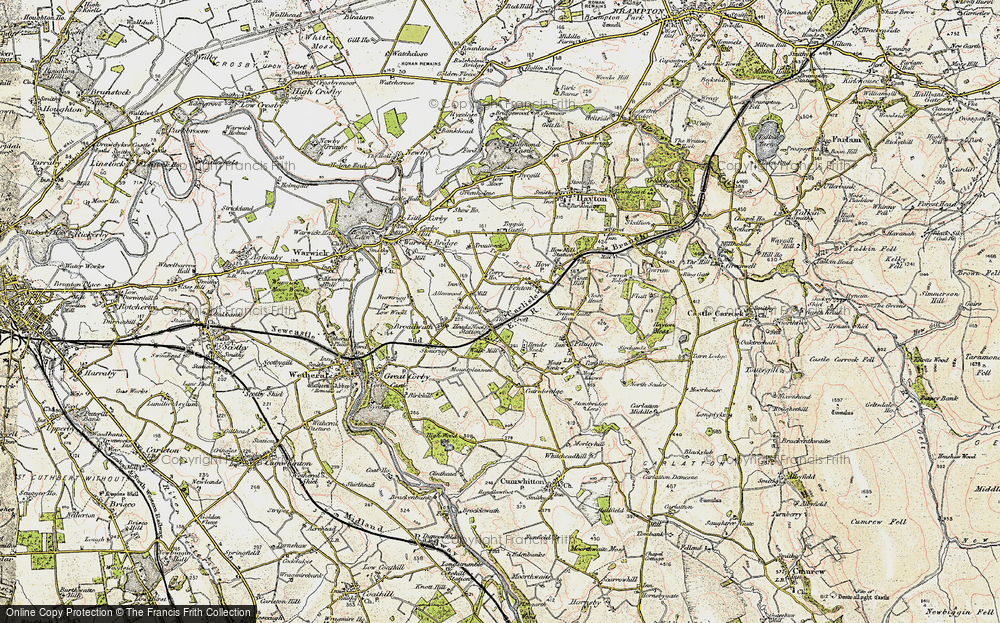 Old Map of Allenwood, 1901-1904 in 1901-1904