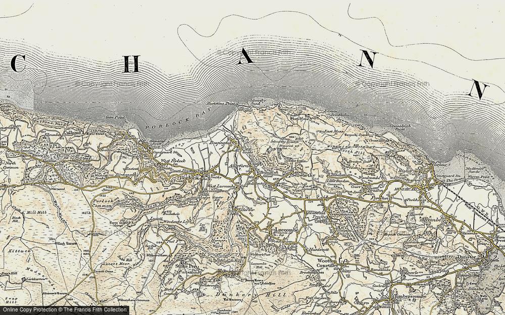 Allerford, 1900