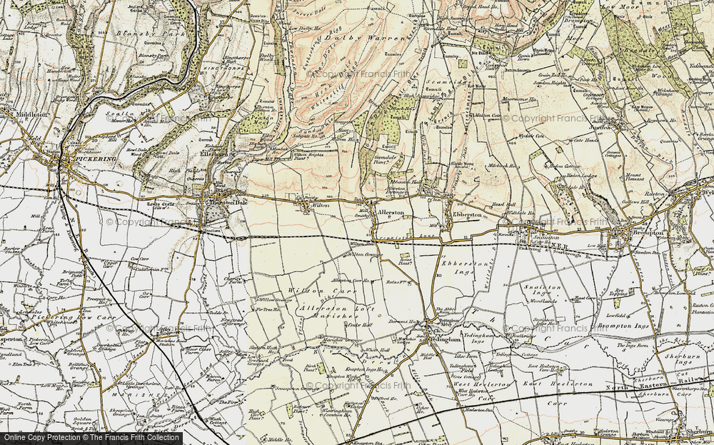 Old Map of Allerston, 1903-1904 in 1903-1904