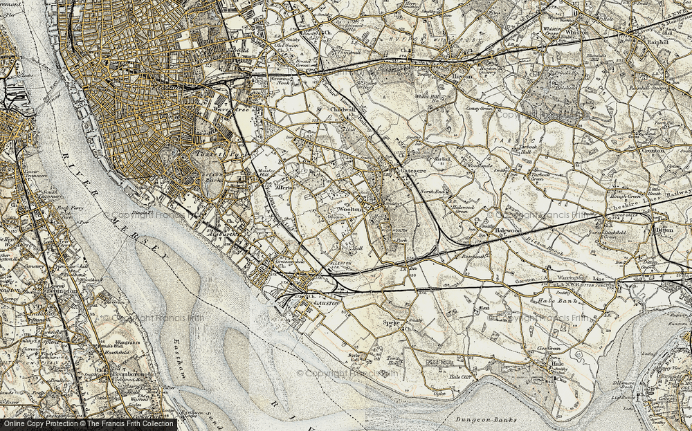 Old Map of Allerton, 1902-1903 in 1902-1903