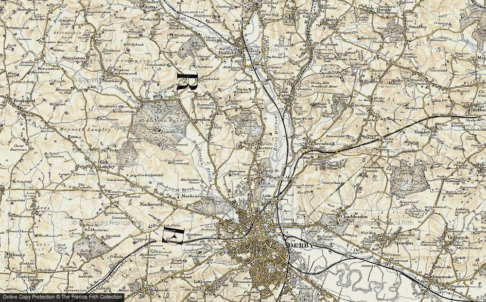 Allestree, 1902-1903