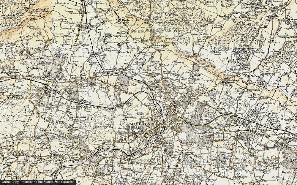 Allington, 1897-1898