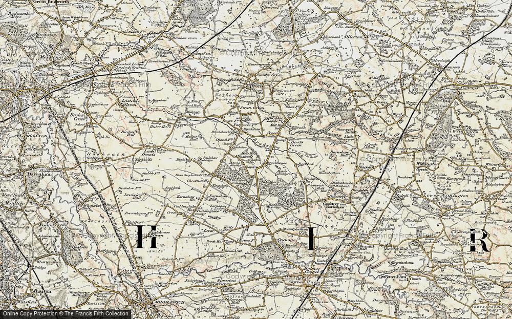 Allostock, 1902-1903