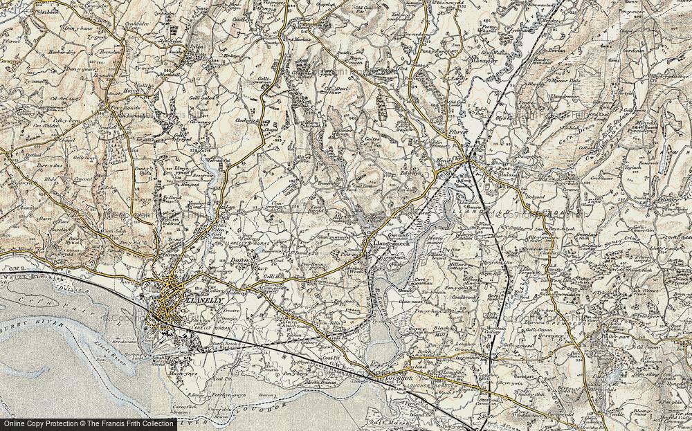 Allt, 1900-1901