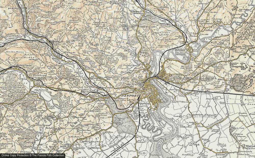 Allt-yr-yn, 1899-1900