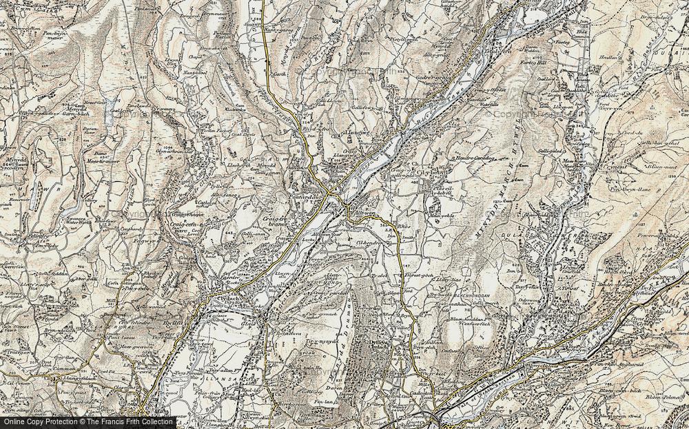 Alltwen, 1900-1901