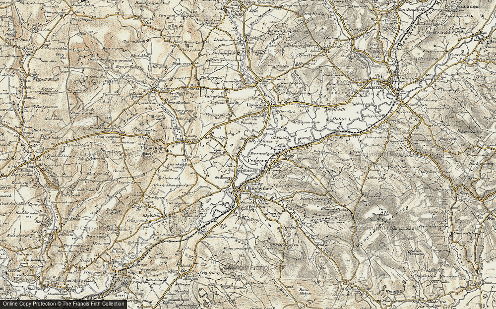 Old Map of Alltyblaca, 1900-1902 in 1900-1902