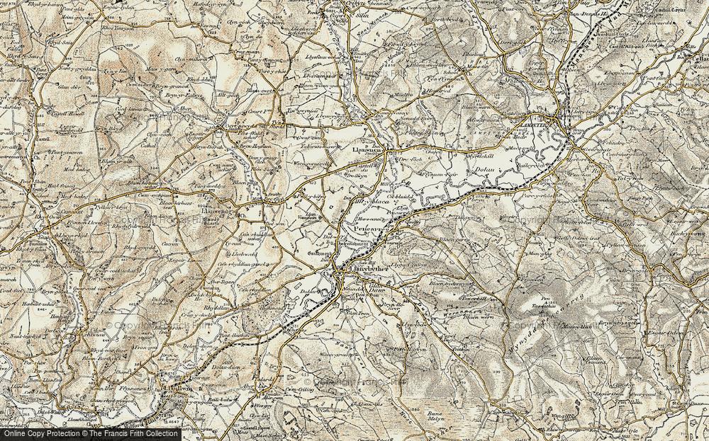 Alltyblaca, 1900-1902
