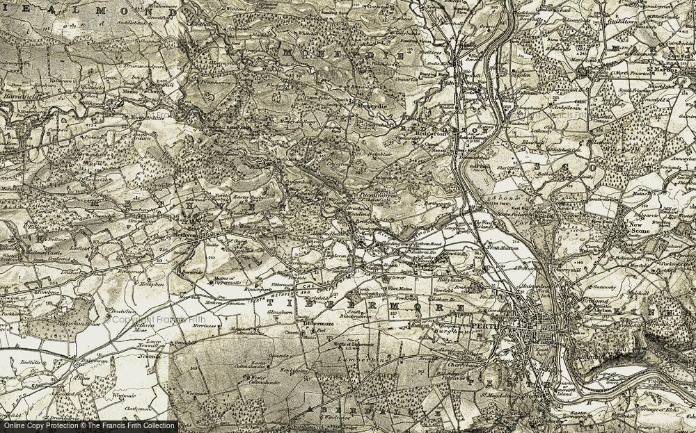 Almondbank, 1907-1908