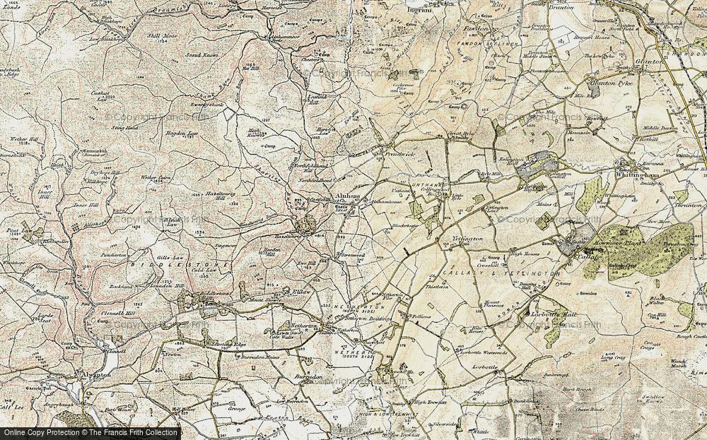 Alnham, 1901-1903