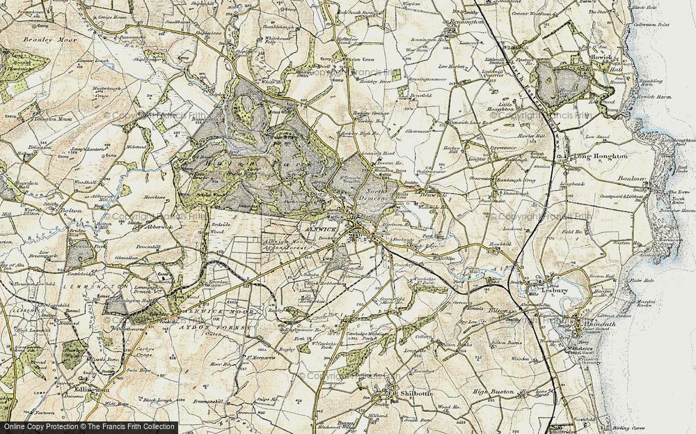 Alnwick, 1901-1903