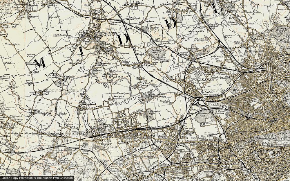 Alperton, 1897-1909
