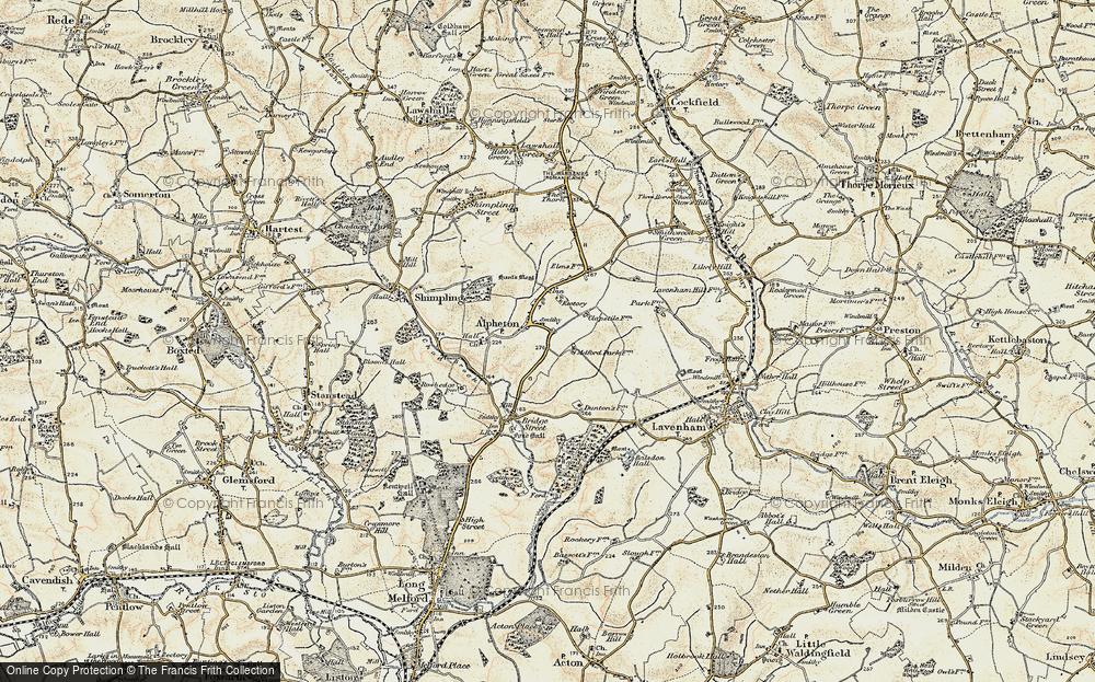 Alpheton, 1899-1901