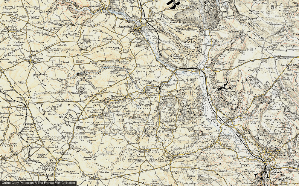Old Map of Alport, 1902-1903 in 1902-1903